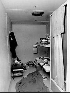 One of Ted Bundy's prison cells