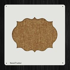 Frame Border Style 1061, DIY Plastic Stencil Acrylic Mylar Reusable *** Check this awesome product by going to the link at the image.
