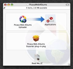 Picasa Web Albums Uploader for Mac   (04/20/2012)  http://googleblog.blogspot.com/2012/04/spring-cleaning-in-spring.html#!/2012/04/spring-cleaning-in-spring.html