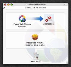 Picasa Web Albums Uploader for Mac   (04/20/2012)  http://googleblog.blogspot.com/2012/04/spring-cleaning-in-spring.html#!/2012/04/spring-cleaning-in-spring.html