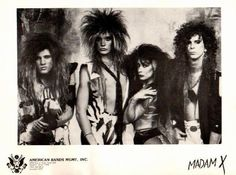 Dont recognize them? That's a pre - Skid Row Sebastian Bach from Left) Skid Row Band, Swedish Erotica, Bullet For My Valentine, X Picture, Girl Artist, Greatest Rock Bands, Rock Artists, Sebastian Bach, Black Sabbath