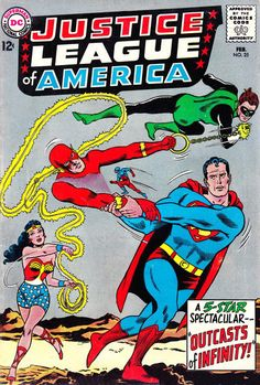Cover for Justice League of America (1960 series) #25