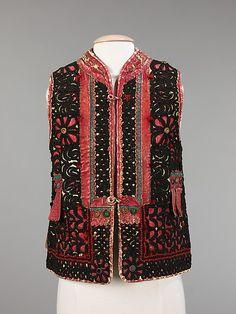 Jacket  Date: 1887 Culture: Czech (Moravian peoples)