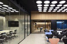 Small Workspace, Workspace Design, Office Workspace, Office Walls, Office Art, Office Ideas, Corporate Interiors, Office Interiors, Commercial Interiors