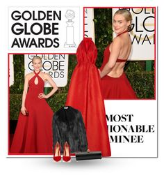 """Dress Your Favorite Golden Globe Nominee"" by bliznec-anna ❤ liked on Polyvore featuring Emilia Wickstead, STELLA McCARTNEY, Gianvito Rossi and GoldenGlobes"
