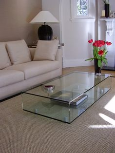 Glass Table Living Room Impressive White Furniture With Round Coffee ...