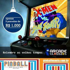 On instagram by pinball_mania  #arcade #microhobbit (o)  http://ift.tt/1MwKdxd  Esse até o Papai Noel queria ter em casa !  Adquira o seu super ARCADE com condições especiais. Personalizada com mais de 1.200 jogos dos anos 80 e 90 em uma única máquina. Todos os jogos que marcaram época para você como: #StreetFighter #MetalSlug #MarvelVSStreetFighter #FinalFight #MortalKombat entre outros.  Isso sim vai animar as visitas dos seus amigos em casa suas festas e confraternizações na empresa. Quer…