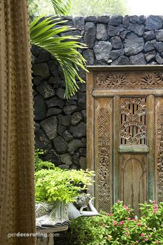 Thai inspired garden