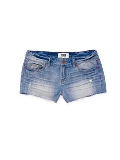Just bought a couple pairs of short shorts--ready for summer!!! #VSPINK #Denim