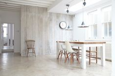 Wall paneling as an element in interior design- Wandverkleidung als Element in der Innenarchitektur Glazed wooden wall panels white – 35 ideas for the country house - White Washed Furniture, Painted Furniture, Furniture Ideas, Whitewashing Furniture, Gray Furniture, Furniture Nyc, Painted Wood, Cheap Furniture, Online Furniture