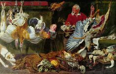 Frans Snyders Wildbrethändler, between 1625 and oil on canvas, 177 × 274 cm × in) National Gallery (Norway) Oslo Jacob Jordaens, Florence, Crafts For 3 Year Olds, Still Life Artists, Peter Paul Rubens, Art Database, Art Reproductions, Figurative Art, Great Artists