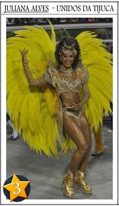 3Juliana Alves Top 6: As melhores fantasias do Carnaval do Rio de Janeiro