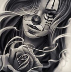 Chicano Drawings Of Roses chicano Tattoo Chicano Style, Gangster Tattoo, Art Chicano, Chicano Drawings, Chicano Tattoos, Body Art Tattoos, Girl Tattoos, Art Drawings, Tattos