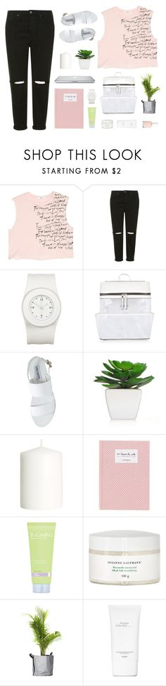 """""""Some Sunny Day"""" by hiddlescat ❤ liked on Polyvore featuring MANGO, Topshop, The Unbranded Brand, Steve Madden, H&M, Susanne Kaufmann, Hermès and Essie"""