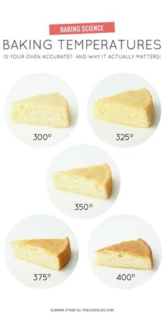 The Science Behind Temperatures  - 10 Charts That Will Turn You into the World's Best Baker