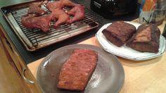 chicken legs, beef tenderloin, flank steak