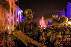 Disney - Sharing the Magic at Night by Express Monorail, via Flickr
