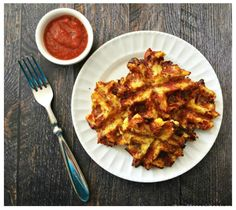 These Delicious Savory Pizza Waffles Are Not Only Grain Free They Are Also Low Carb