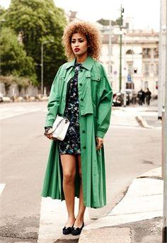 80s Inspired - Vogue Italia
