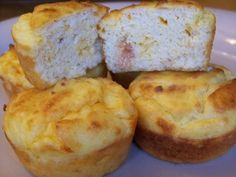 Bacon Egg and Cheese Muffins | Low Carb Yum