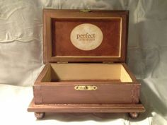 Wood Crafts - Beautifully designed vintage box by Enchanted Giftss  on Etsy - sold.