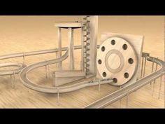 Marble machine   Cinema 4D - YouTube