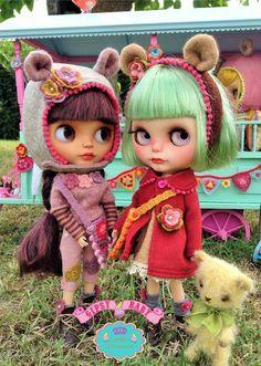 boneca blythe decoração toy art