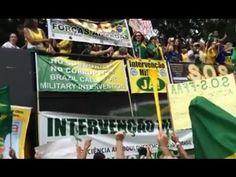 Intervencionistas falam por quê querem Intervenção Militar no País [VÍDEO] | Go Tropa News