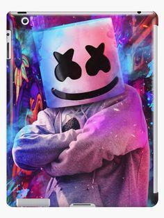 Marshmallow Ipad Snap Case by Maddemaxx77