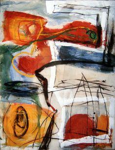 Parcours I, 1996, 260 x 195 cm