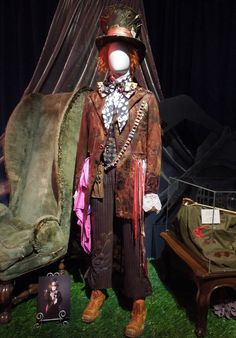 The Hatter's costume from Tim Burton's Alice in Wonderland