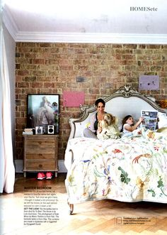 The Versailles Bed from And So To Bed, for a truly luxurious sleep, http://andsotobed.co.uk Living Etc October 2013