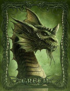 Green Dragon by Kerem Beyit. Dragon Vert, Green Dragon, Fire Dragon, Dragon 2, Green Pictures, Dragon Pictures, Dragon Pics, Magical Creatures, Fantasy Creatures