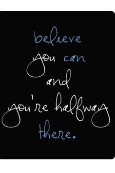 Thoughts are powerful! Believe. Believe. Believe. Life Quotes Love, Great Quotes, Quotes To Live By, Me Quotes, Motivational Quotes, Inspirational Quotes, Exam Quotes, The Words, Positive Thoughts