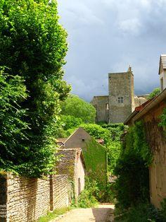 medieval village of Brancion, France