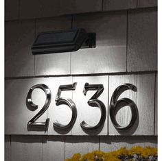 1000 images about dream decor on pinterest modern for Modern house numbers home depot