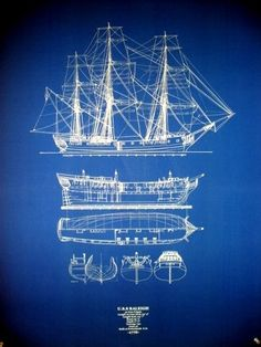 U.S. Frigate Raleigh of 1776... and such a royally nice shade of blue
