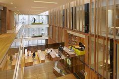 University of Oregon John E. Jaqua Academic Center for Student Athletes ZGF Architects LLP