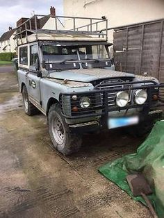 Land Rover Series 3 Short wheel Base LPG