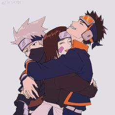 Find images and videos about anime, naruto and rin on We Heart It - the app to get lost in what you love. Naruto Uzumaki Shippuden, Naruto Kakashi, Anime Naruto, Naruto Teams, Naruto Fan Art, Naruto Comic, Wallpaper Naruto Shippuden, Naruto Cute, Naruto Wallpaper