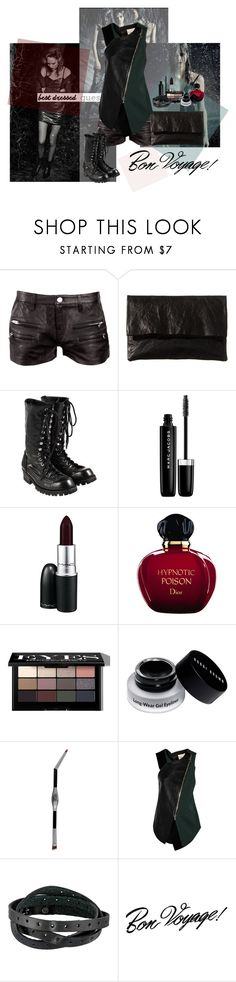 """""""Stripped"""" by minhthaoluong on Polyvore featuring IRO, Zilla, Comme des Garçons, Marc Jacobs, MAC Cosmetics, Christian Dior, Bobbi Brown Cosmetics, It Cosmetics, 3.1 Phillip Lim and Frye"""