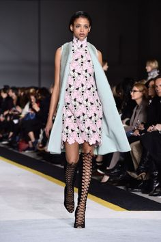 Giambattista Valli. See all our favorite looks from Paris fashion week.