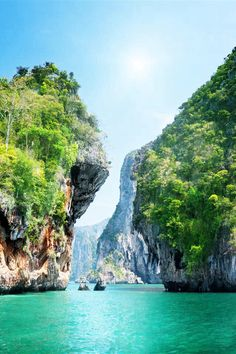 Beautiful scenery.