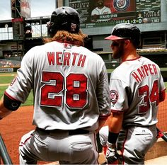 Werth & Harper - Washington Nationals