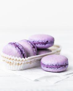Blackberry Macarons