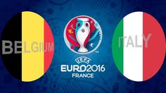 Euro 2016- Italia vs Belgio highlight (Italy 2-0 Belgium highlights)