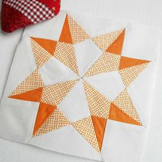 Block 338 - Crystal. A really tricky block - the hardest so far. Thankfully it is paper-pieced and done. Never again!