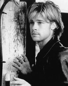 """Brad Pitt en """"La Sombra del Diablo"""" (The Devil's Own), 1997"""