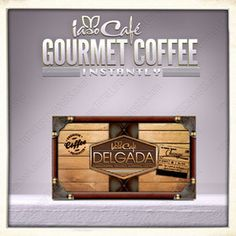 LOSE WEIGHT drinking Coffee!!  Iaso cafe delgada :)  This stuff is awesome, it combines Garcinia Cambodia & 100% pure Ganoderma Extract.  Comes with 20 packets that can be ready in an instant!