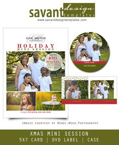 Christmas Mini Session Template Marketing Photoshop for Photographers - 102